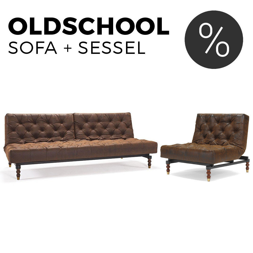 sofa sessel set oldschool von innovation kaufen sofawunder. Black Bedroom Furniture Sets. Home Design Ideas