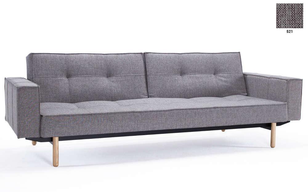 Splitback Sofa mit Armlehnen von Innovation   Sofawunder