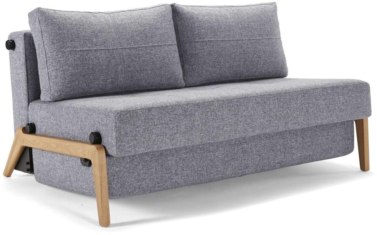 Cubed 160 sofa von innovation g nstig kaufen sofawunder for Schlafsofa holzgestell