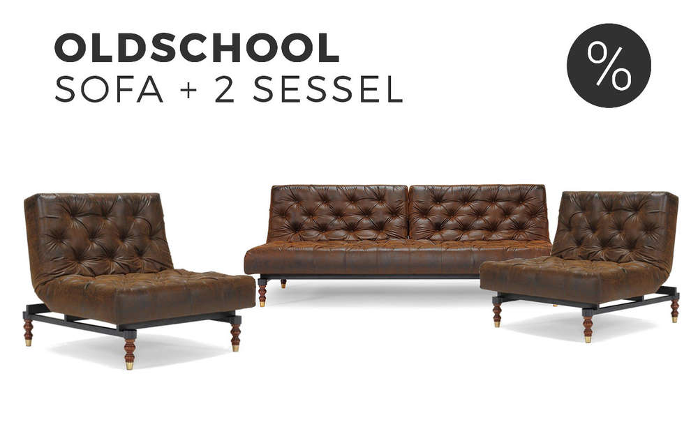 Sofa & Sessel Set Oldschool von Innovation kaufen | Sofawunder