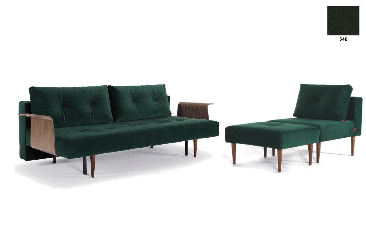 recast sofa mit sessel hocker im spar set sofawunder. Black Bedroom Furniture Sets. Home Design Ideas