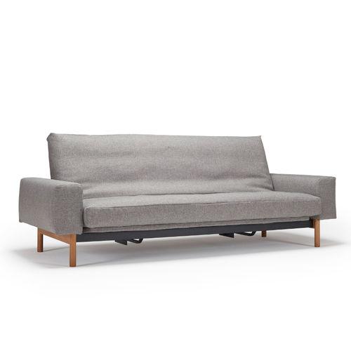 schlafsofa dauerschl fer mit matratze kaufen sofawunder. Black Bedroom Furniture Sets. Home Design Ideas