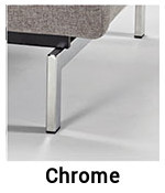 Chrome-legs-Innovation-Sofa für Sofa Splitback mit Armlehnen