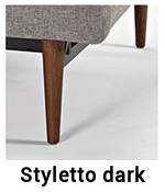 Styletto-Dark-Innovation-Sofa für Sofa Splitback mit Armlehnen