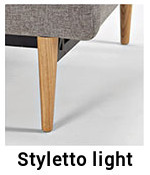 Styletto-Light-Innovation-Sofa für Sofa Dublexo mit Armlehnen