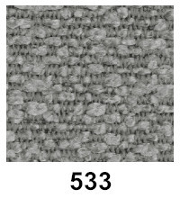 Innovation Stoffmuster 533 Boucle Ash Grey